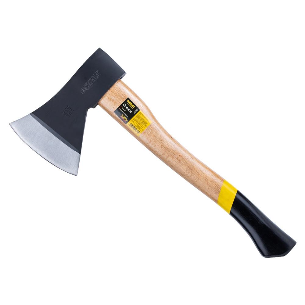 Топор 1000г деревянная ручка (береза) Sigma (4321341)