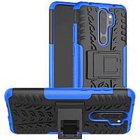 Чехол Armor Case для Xiaomi Redmi Note 8 Pro Blue
