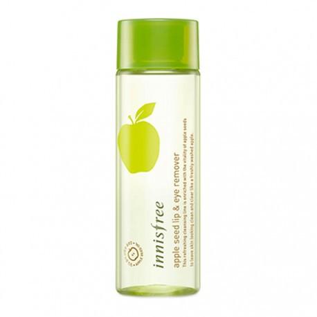 Двухфазное средство для снятия макияжа с глаз и губ с маслом яблочных косточек Innisfree Apple Seed Lip & Eye Remover 100 мл (8809516807743)