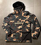 Куртка Анорак NAPAPIJRI / Камуфляж песочный, фото 2