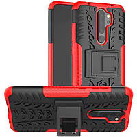Чехол Armor Case для Xiaomi Redmi Note 8 Pro Red