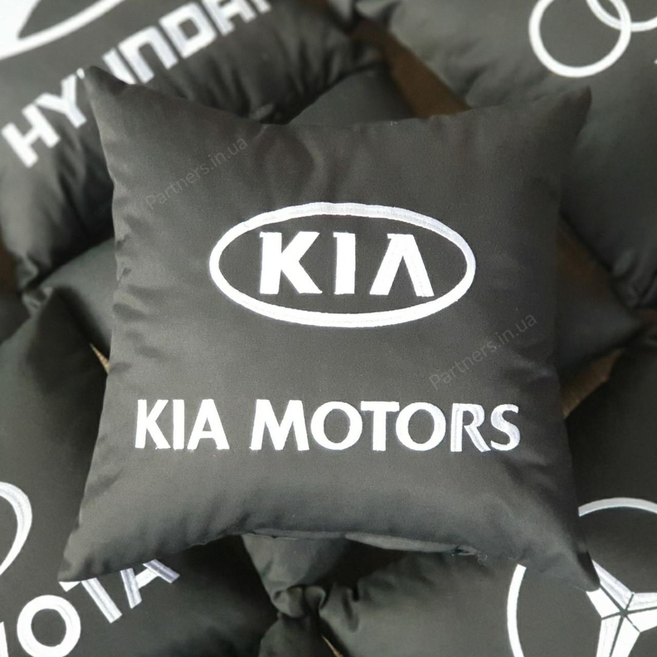 Подушка с логотипом  Киа (Kia Motors)