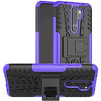 Чехол Armor Case для Xiaomi Redmi Note 8 Pro Violet