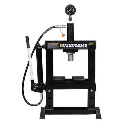Пресс гидравлический с манометром 10т SIGMA (6206011), фото 2
