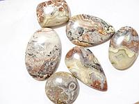 Кабошон из натурального природного камня Агат (цена за грамм)