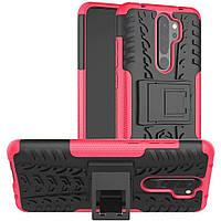 Чехол Armor Case для Xiaomi Redmi Note 8 Pro Rose