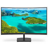 "Philips 23.6"" 241E1SCA/00 VA Black Curved"