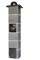 Димохідна система без вентиляції 9 метрів Jawar Uniwersal Plus