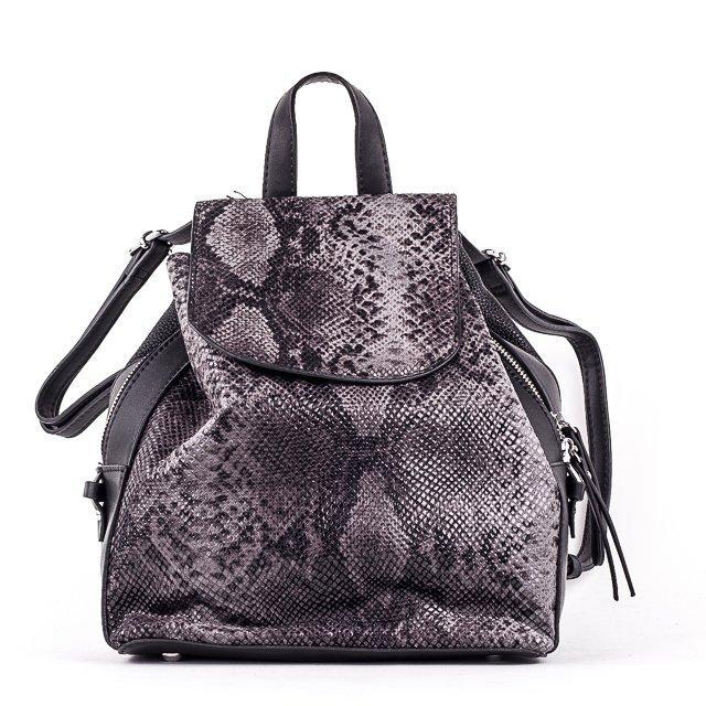 Жіночий стильний рюкзак PRIMA K8791-2 BLACK