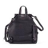 Жіночий стильний рюкзак PRIMA K8791-2 BLACK, фото 2