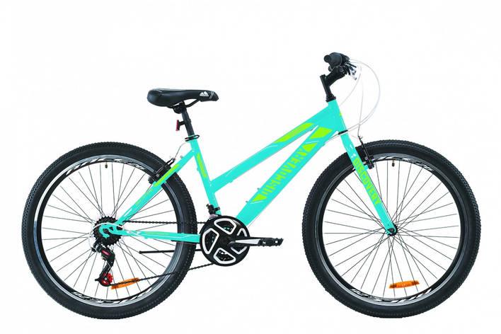 """Велосипед ST 26"""" Discovery PASSION Vbr 2020 (голубой с зеленым), фото 2"""