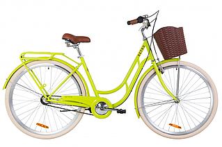 """Велосипед 28"""" Dorozhnik RETRO планет. 2020 (салатный )"""