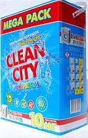 Стиральный порошок Clean city, универсальный в коробке (10кг.)