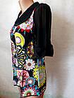 Блузи туніки жіночі шифонові №8618. Розмір 42,44,46,48.Кольори різні. Від 16шт по 10грн., фото 3
