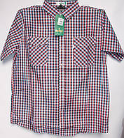 Чоловіча літня сорочка (р-р 48-56) з коротким рукавом оптом недорого зі складу в Одесі