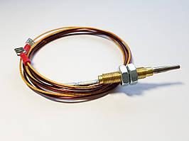 Термопара для духовки Hansa 8040861.L-1200 mm. Резьбовой оголовок. Две клеммы