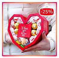 Оригинальный подарок девушке, жене, дочке, женщине, подруге, сестре из конфет.