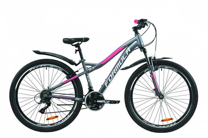 """Велосипед 26"""" Formula ELECTRA 15 2020 (антрацитово-белый с розовым (м)), фото 2"""