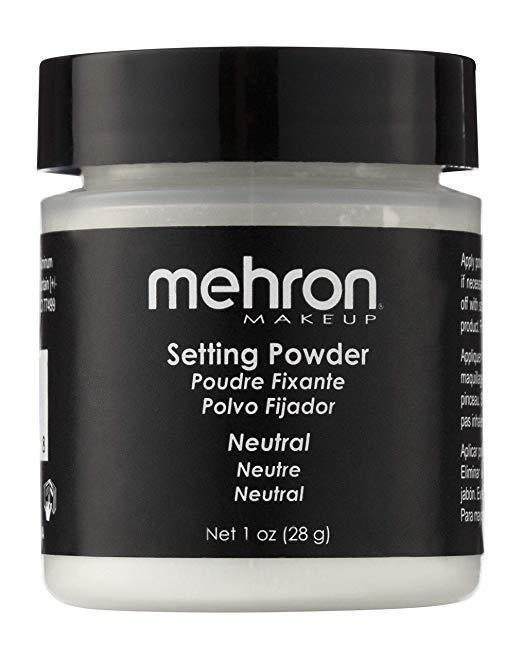 MEHRON Финишная пудра-закрепитель UltraFine Setting Powder, Neutral (Прозрачная), 28 г