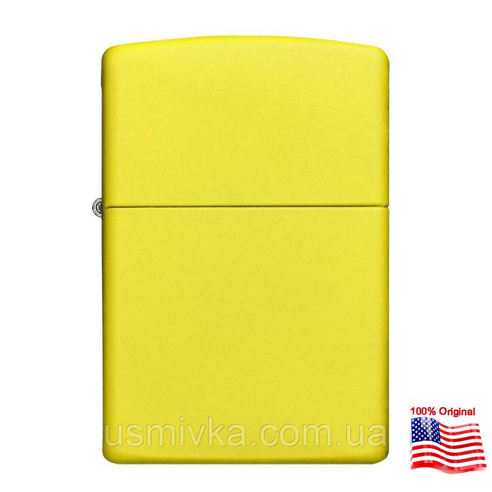 Зажигалка Zippo 24839 Lemon Matte желтая 24839