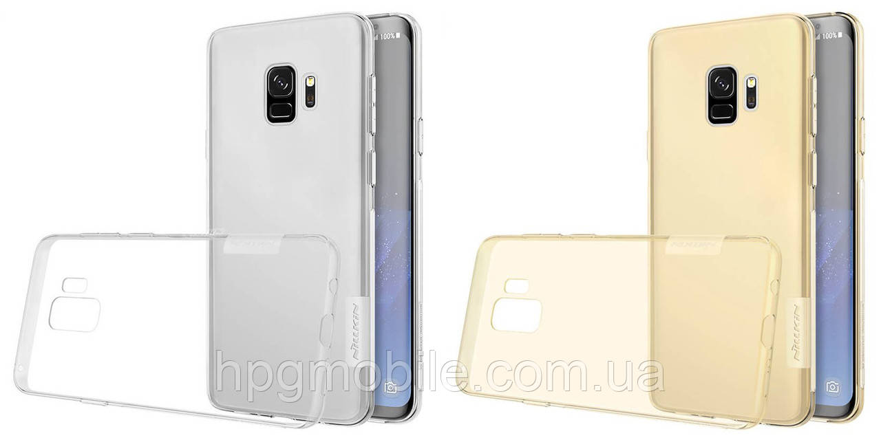 Купить Чехол для Samsung Galaxy S9 G960 (2018) - Nillkin Nature TPU Case, Ultra Slim, силикон