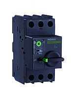 Автоматический выключатель для защиты двигателей Ex9S32A 0,1A-0,16A