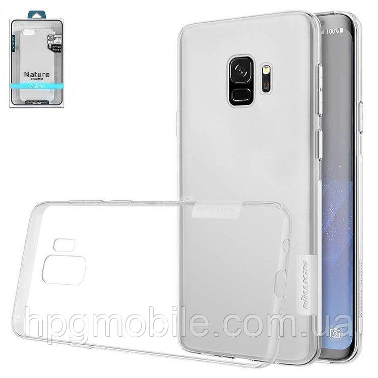 Купить Чехол для Samsung Galaxy S9 G960 (2018) - Nillkin Nature TPU Case, Ultra Slim, силикон Прозрачный