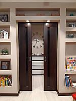 Двери раздвижные межкомнатные М-2/Г деревянные из массива ясеня., фото 1