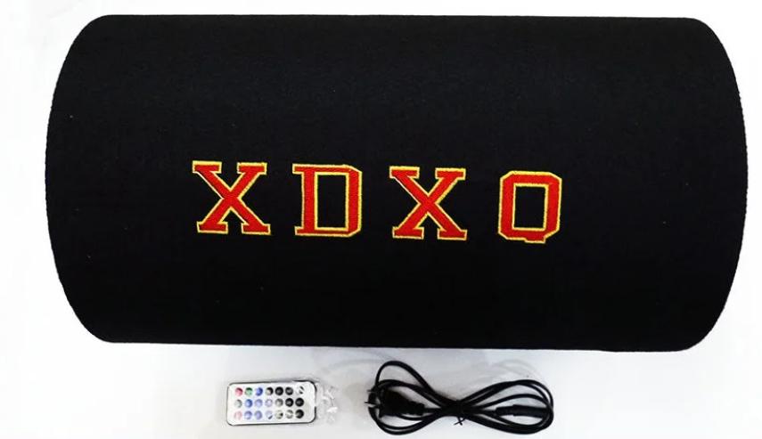 """Автомобильный Активный сабвуфер бочка 10"""" .  350W + Bluetooth + Пульт."""