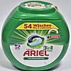 Гель-капсулы для стирки Ariel pods 3в1  универсал (54шт.)