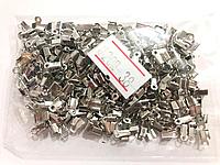 Зажимы для лески 18гр цвет сталь