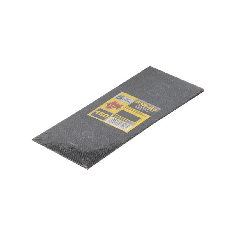 Сетки абразивные 5шт. 115×280мм (зерно 100) SIGMA (9161001)