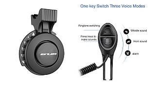 Звонок электронный, мощность 120 Дб USB черный BC-BB3330