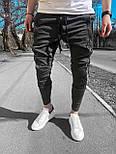 Спортивные штаны - Мужские штаны на каждый день серые, фото 2