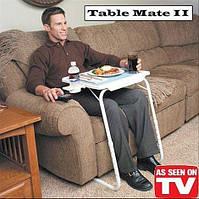 Мобильный складной столик для ноутбука Table Mate, Тейбл Мейт 2, Универсальный стол, Столик для ноутбука