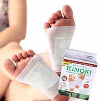Пластир очищуючий для стоп Kinoki, Пластирі для очищення організму, Детокс пластир, Пластир антитоксин кінокі/