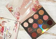 Палетка теней Sweet Talk, Тени для век Colour Pop, Декоративная косметика, Тени для глаз, Тіні для макіяжу