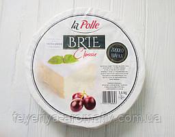 Сыр Бри с белой плесенью классический la Polle Brie Classic 1,6кг (Польша)