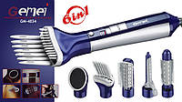 Фен-стайлер для волос Gemei GM-4834 6в1, Профессиональный фен, Качественный фен, Фен для сушки волос