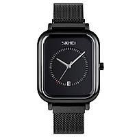 Skmei 9207 черные мужские классические наручные часы, фото 1