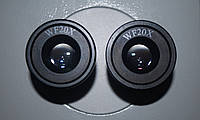 Окуляры для микроскопа 20х WF 30,5мм широкопольный 1 пара (2 штуки)