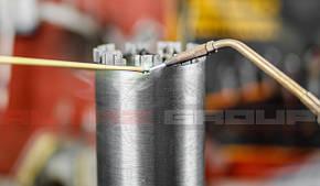 Реставрація алмазної коронки - напайка алмазного сегменту Turbo-Х