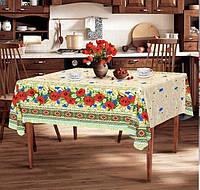 Скатерть на розкладной стол стол 150*220 см, лен