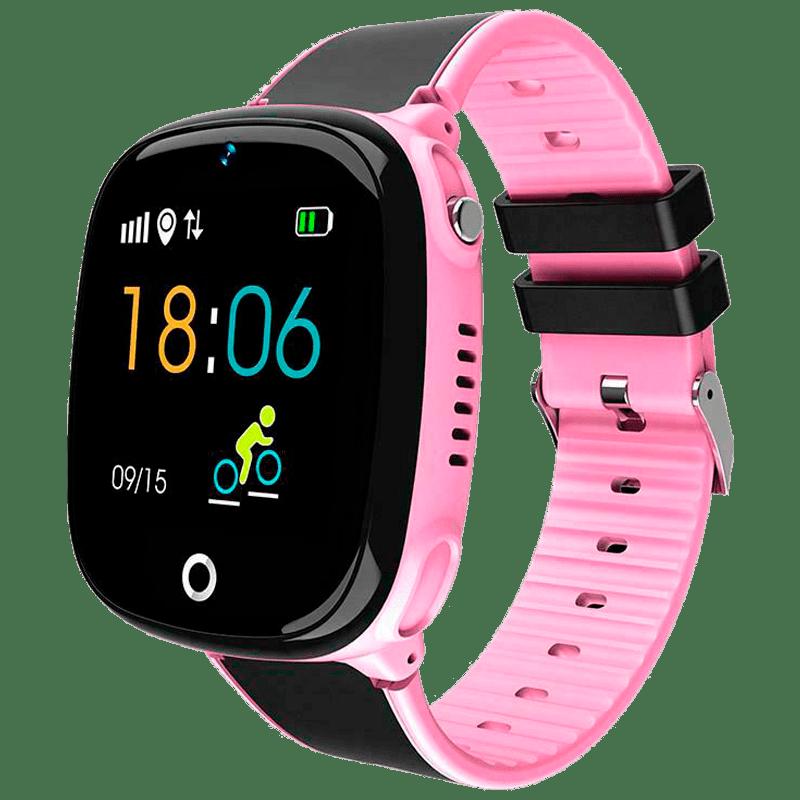 Смарт-часы детские JETIX DF50 Light Edition с GPS трекером и Защитой от воды IP67 (Pink)