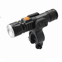 Фонарь пер. BC-FL1578 300лм LED питание Li-on 1200mAh USB с унив. крепл. Pl