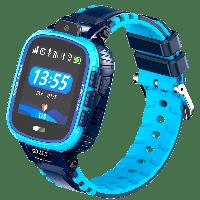 Cмарт-часы детские JETIX DF45 MAXIMUM EDITION c датчиком снятия и влагозащитой IP67 (Blue)