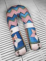 U-образная подушка подкова обнимашка для беременных Esen Кантри XL 120x60 см (107 017 XL)