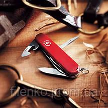 Складаний ніж Victorinox CAMPER 1.3613 офіцерський Червоний, фото 2