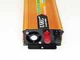 Інвертор UKC 1500W 24V Перетворювач струму AC/DC Gold, фото 3