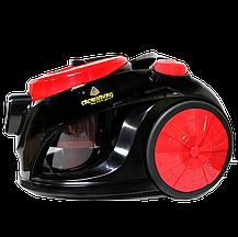 Потужний пилосос з турбо щіткою на 3500W Crownberg CB 659 Червоний, фото 3